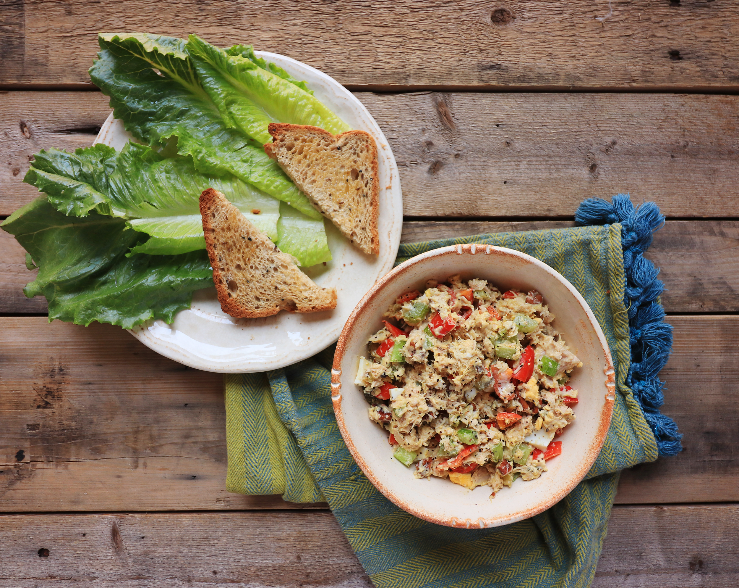 healthy homemade tuna salad recipe
